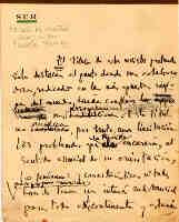 Manuscript of Eduardo Mallea: presentation of Sur