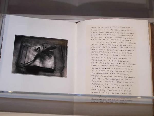 Sean Kernan  The Secret Books, 1999  On loan from the artist
