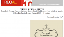 Review of Poemas y prosas breves